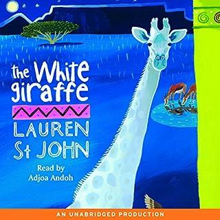 The White Giraffe audiobook cover art