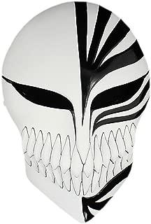K.N. Anime Bleach Ichigo Kurosaki Halloween Mardi Gras Cosplay Resin Mask Masquerade