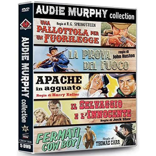 Audie Murphy Collection (5 Dvd)