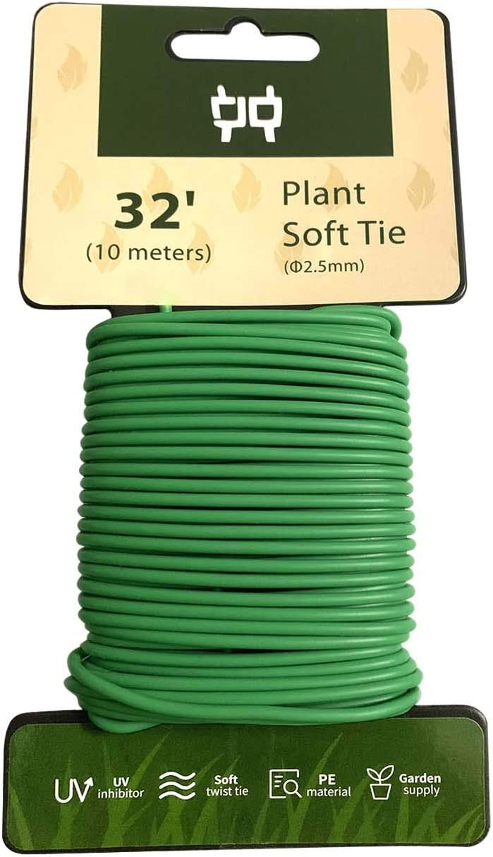 HHMM ! Super beauty product restock quality top! 32.8 ft Soft Plastic Coated Plant for Tie Outlet ☆ Free Shipping Wire 2.5mm Garden