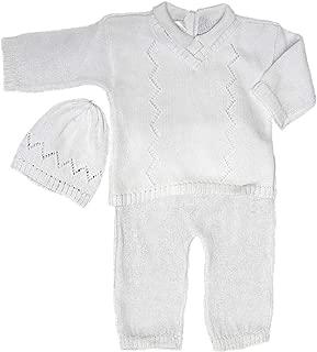 Babys Trousseau 3 Piece Knit Set A1133