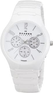 Skagen Men's SK817SXWC1 Ceramic Mother-of-Pearl Dial Watch