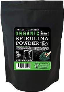 Honest to Goodness Organic Spirulina Powder, 1 Kilograms