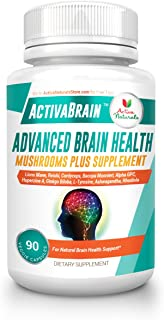 Brain Supplement with Natural Dietary Nutrients to Support Memory, Brain Fog and Focus