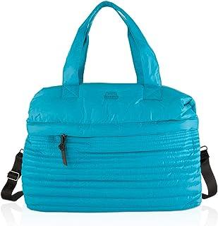 BLMSBB Fitness Luggage Bag, Waterproof Travel Bag, Blue