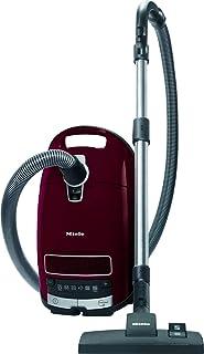 Miele Complete C3 Pure Red PowerLine / Bodenstaubsauger mit Beutel / 890 Watt / 12 m Aktionsradius / Universal-Bodendüse / integriertes 3-teiliges Zubehör / Brombeerrot