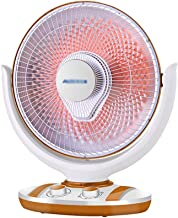 LLRZ Radiateur Chauffage Chauffe- Espace oscillant avec Inclinaison réglable 60 0w/ 1000w Chauffe- Plat Radiant avec Prote...