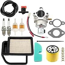 Leopop 20 853 33-S Carburetor 52 050 02-S Oil Filter for Kohler SV Series SV470 SV600 SV530 SV540 SV590 SV591 SV601 SV610 SV620 18HP 15HP 17HP 19HP Engine w Air Filter