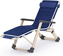 High-quality recliner Zero Gravity Chair Deck Chair Recliner, Double Oxford Cloth Zero Gravity Sun Loungers Siesta Portable Recliner can Sit or Lie Down Folding Lounger Chair Sun Lounger