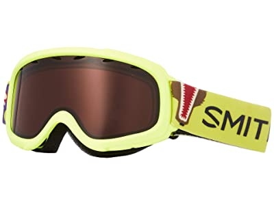 Smith Optics Gambler Goggle (Youth Fit) (Acid Animal Mouth Frame/RC36 Lens) Goggles