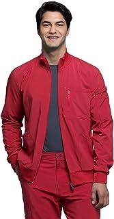 Cherokee Infinity Mens Zip Front Scrub Jacket