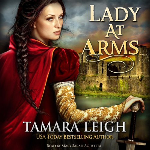 Lady at Arms audiobook cover art