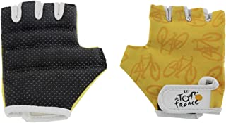 Tour De France - Guantes Juveniles (Talla XS), Color Amarillo