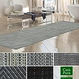 Tapis intérieur extérieur casa pura résistant, antisalissure, impermeable et antidérapant | nombreux design/tailles | Matera - 60x200cm