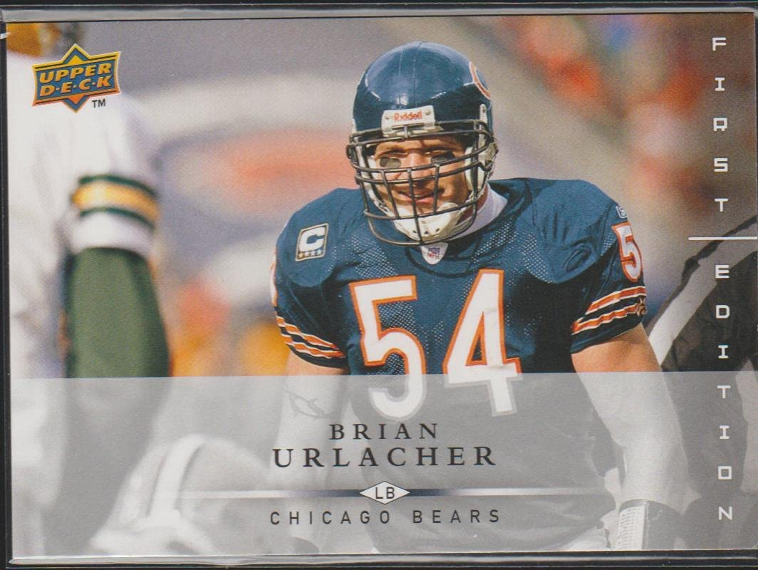 67% OFF of fixed price Brian Urlacher Football Card 2008 Upper First Deck 2 unisex # Edition