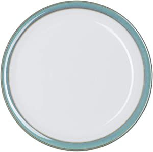 Denby Azure & Coast Mix and Match 4 pc Dinnerware Set, One size, aqua teal