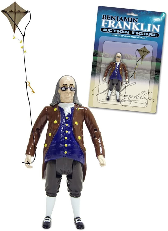 ofreciendo 100% Benjamin Franklin La figura figura figura de acción  artículos novedosos