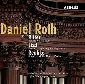 Daniel Roth at the organ of Saint-Sulpice