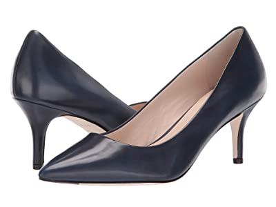 Cole Haan Vesta Pump (65mm) (Marine Blue Leather) Women