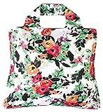 Envirosax - Faltbare Einkaufstasche mit Blumenmuster.