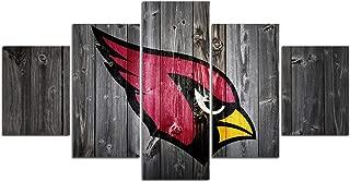 SC Sports Arizona Cardinals NFL Mascot Wall Hook Coat Hanging Rack Bathroom Bedroom Towel Decorative Mounted Hooks Hangers Collectible