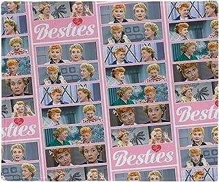 "CafePress I Love Lucy: Pattern Throw Blanket Soft Fleece Throw Blanket, 50""x60"" Stadium Blanket"