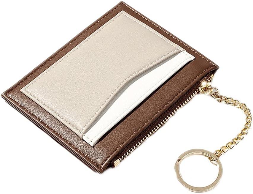 Key Chain Gift Keychain Wallet Card Case Slim Pocket Wallet for