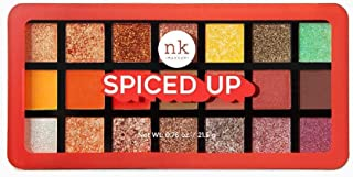 Nicka K 21 Color Eyehadow Palette - Spiced Up, Multicolor, 21.5 g