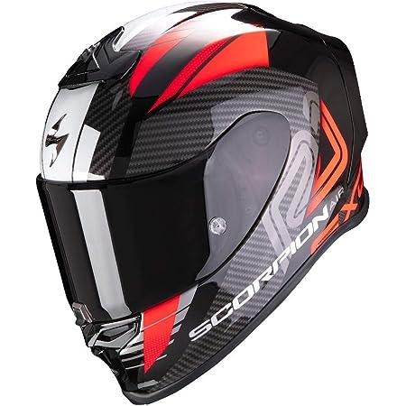 Scorpion Motorradhelm Exo R1 Air Halley Metallic Black Red Schwarz Rot L 10 298 244 05 Auto