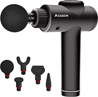 AOBEN Massage Gun-Technology Upgrade Professional Percussion Massage Gun, Cordless Handheld Electric Massager to Relieve Deep Muscle Tissue Soreness Through Comfortable Percussion.