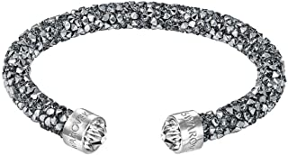 Swarovski Medium Grey Crystaldust Cuff
