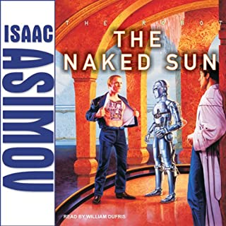 The Naked Sun audiobook cover art