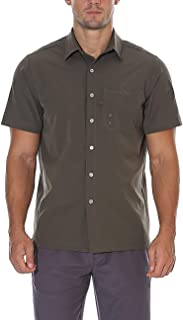 Nonwe Men's Hiking Short Sleeve Shirts Quick Dry Breathable