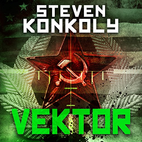 Black Flagged Vektor audiobook cover art