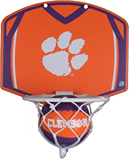 Clemson Tigers Mini Basketball and Hoop Set