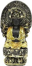 Baoblaze Meditating Buddha Statue, Guan Yin Buddha Decorative Figurine for Home Office Tabletop Desktop Spiritual Living R...