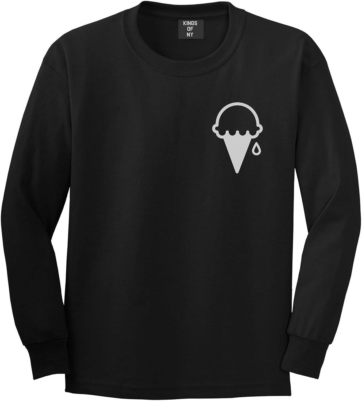 - Kings Of NY Ice Cream Cone Scoop Mens Mens Mens Long Sleeve T-Shirt ee7bf4