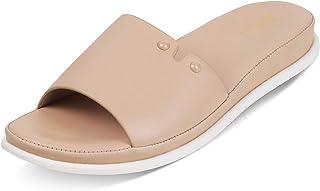 Tresmode Women Casual Flat Slip on open toe Sandal   Fashion Open toe Sandals