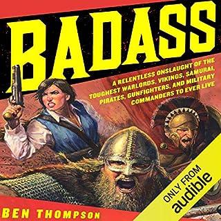 Badass audiobook cover art