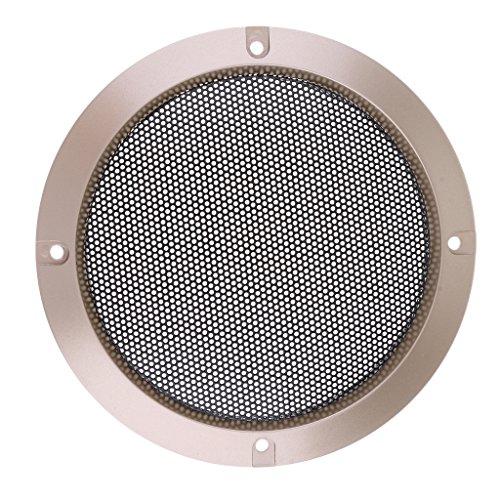 FLAMEER Lautsprecherabdeckung Gitter Metall Abdeckung für Lautsprecher, Size auswählbar - 5 Zoll