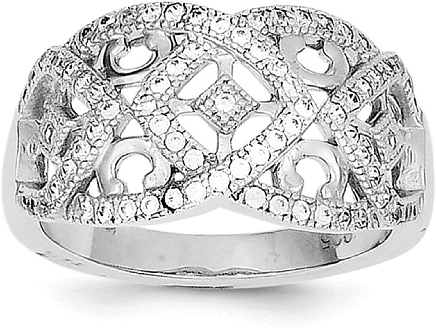 Sterling Silver Intricate Designs Ring
