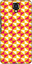 AMZER Handcrafted Designer Printed Slim Snap on Hard Case - Infinix Note 4 - Hexamaze 3