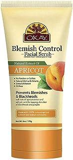 Okay Apricot Facial Scrub, 6 Ounce