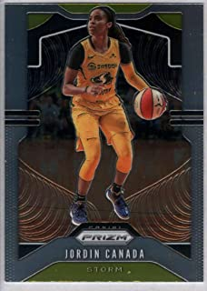 2020 Prizm WNBA Silver Refractor #69 Liz Cambage Las Vegas Aces Official Panini America Womens Basketball Trading Card Scan Streaks are NOT on the card itself