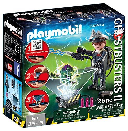 CAZAFANTASMAS Raymond Stanz Playset de Figuras de Juguete, Multicolor, 7 x 14,4 x 14,6 cm Playmobil 9348
