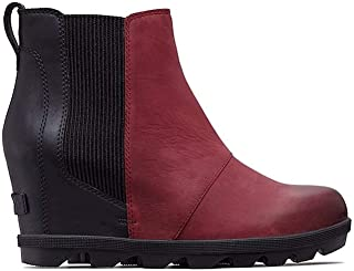 ac1e6d130587 Amazon.com  Red - Ankle   Bootie   Boots  Clothing