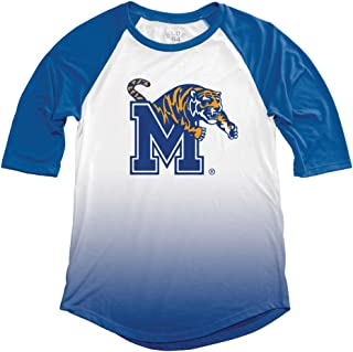 NCAA Memphis Tigers Adult Women NCAA Women's Sublimated Baseball Tee,Medium,Royal