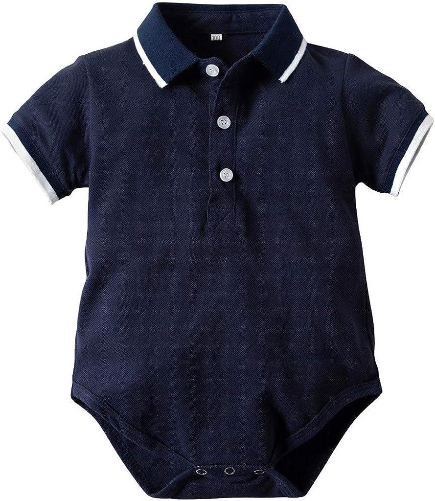 Bebe Niño Polo Body Pelele Manga Corta Mono Mameluco Ropa ...