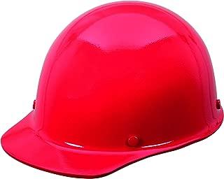 MSA 454620 Skullgard Cap Hard Hat, with 4-point Staz-on Suspension, Standard, Red