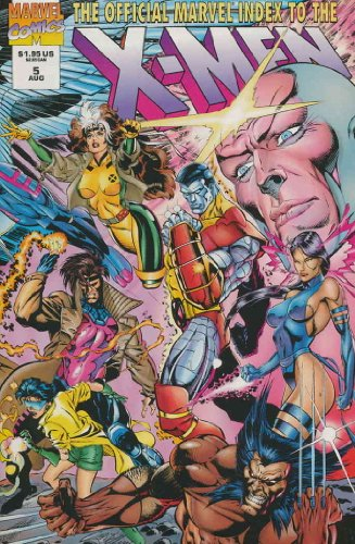 Official Marvel Index to the X-Men (Vol. 2) #5 VF/NM ; Marvel comic book
